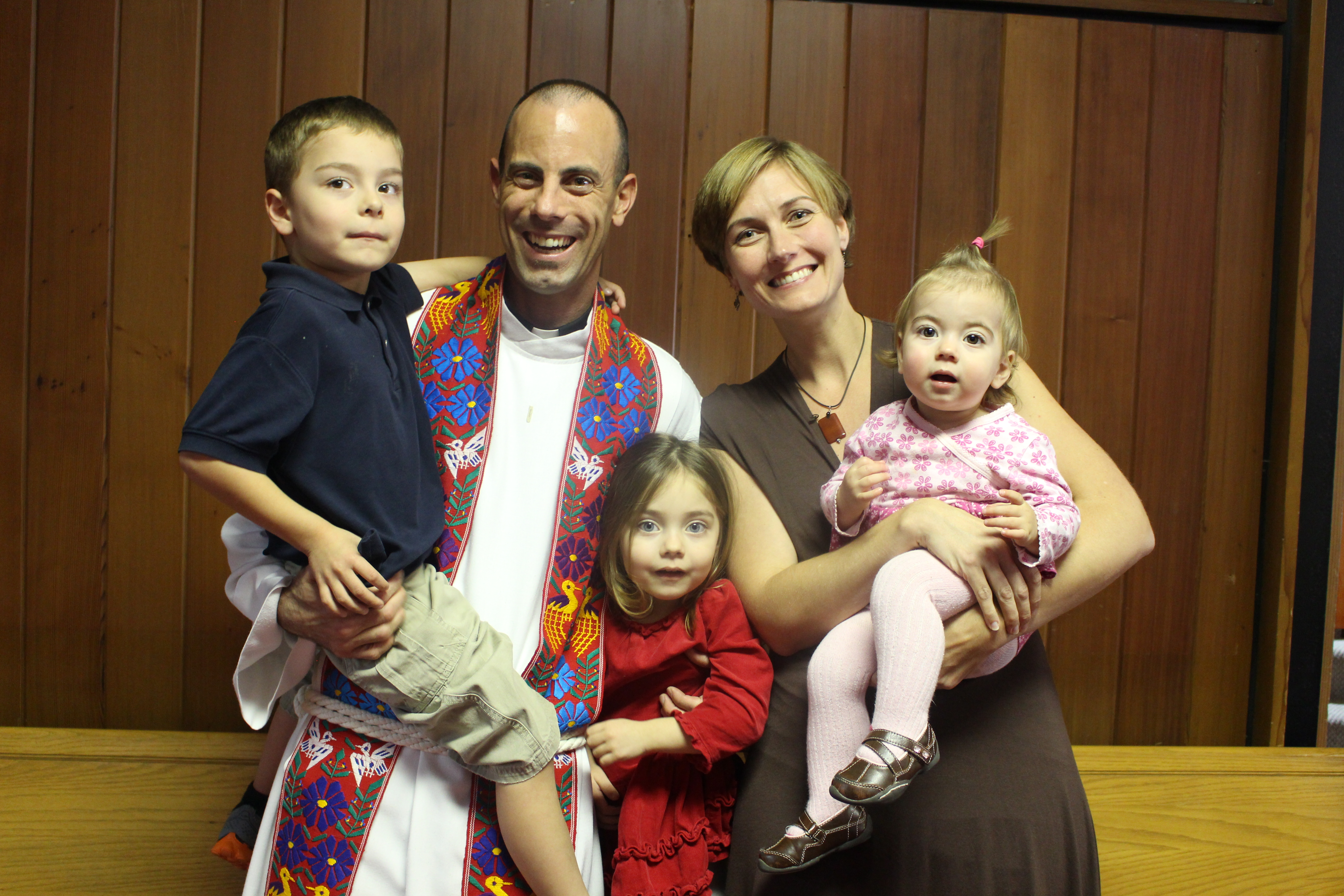 meet pastor brandon and his family salem lutheran ministries